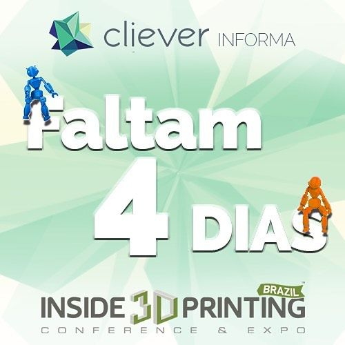 Something we liked from Instagram! A Inside 3D Printing tá chegando!!! Quem vamos?? _o/ #inside3dprinting #cliever #clievertecnologia #clieverbrasil #impressora3d #3Dprinting #tecnologia #3dprinter #inovação #impressão3D #software #gocliever #sl1 #stereolithography #estereolitografia by cliever3d check us out: http://bit.ly/1KyLetq