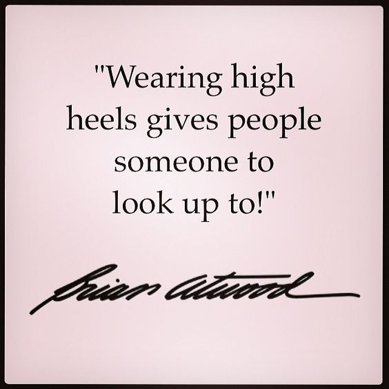 Tag someone you look up to! #thesexisintheheel #brianatwood #Padgram