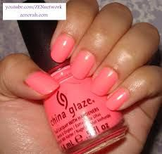 Image result for coral nail polish