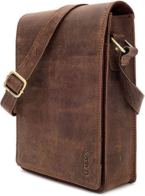 LEABAGS Dover bolso bandolera de auténtico cuero búfalo en