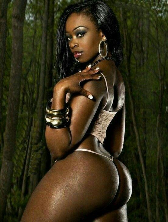 Ebony anal gape