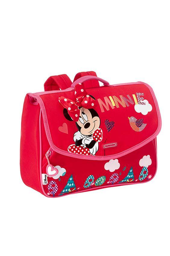 Disney Wonder Ученическа раница Minnie Floral размер S