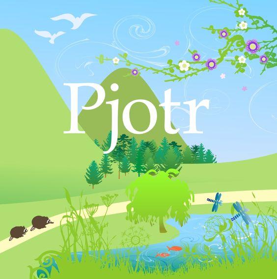 Pjotr Birth card frontside by Josien van Brussel