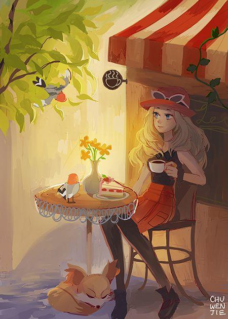 PKMN cafe by chuwenjie