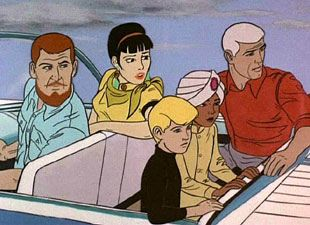 Jonny Quest: Jade Invited Quest Party by lebitalarican1986, via Flickr