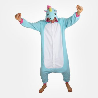 Blue Unicorn Onesie (Adult). Want want want!