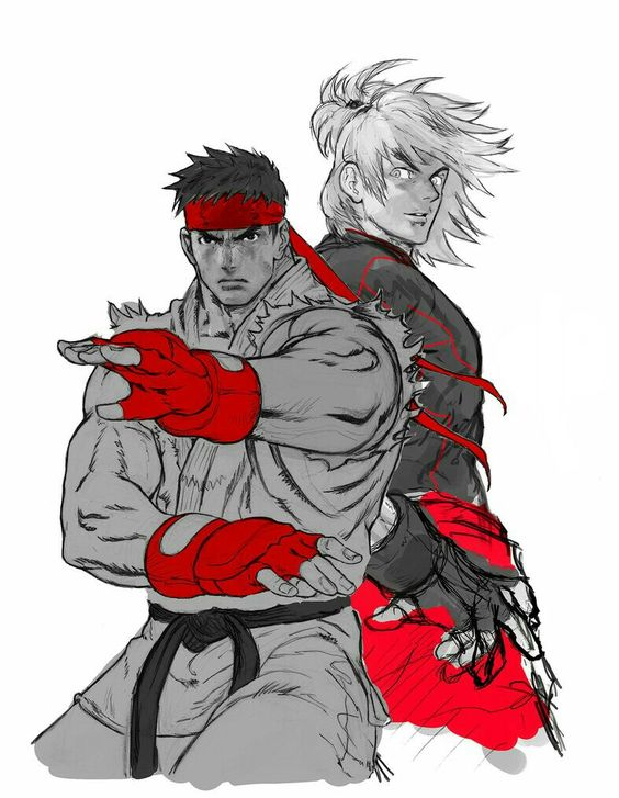 二人の格闘家
