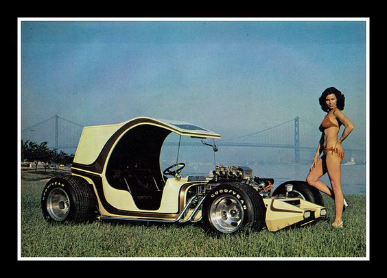"""""""Suspended Animation"""" Show Car, 1975 by Cosmo Lutz, via Flickr"""
