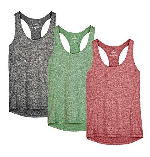 Women Workout Tank Top T-shirt Sport Gym Clothes Fitness Yoga Tank Tops Shirt
