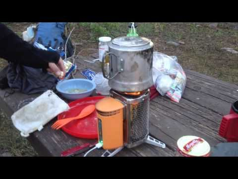 BioLite CampStove - Review - 4 Day Trial - Back Pack Trip - YouTube