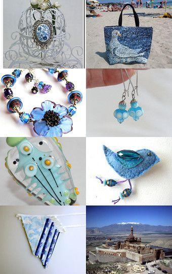 Blue and Aqua Finds by Natasha on Etsy--Pinned with TreasuryPin.com