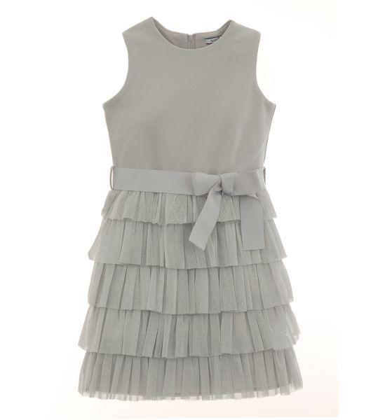 Infant Tulle Ruffle Dress Ensemble   Dresses   Hartstrings