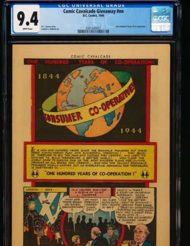 archived! $ 371 | Comic Cavalcade Giveaway # Nn - 100 Years Of Co-operation Cgc 9.4 . #comics https://t.co/6q7pxKm4dN