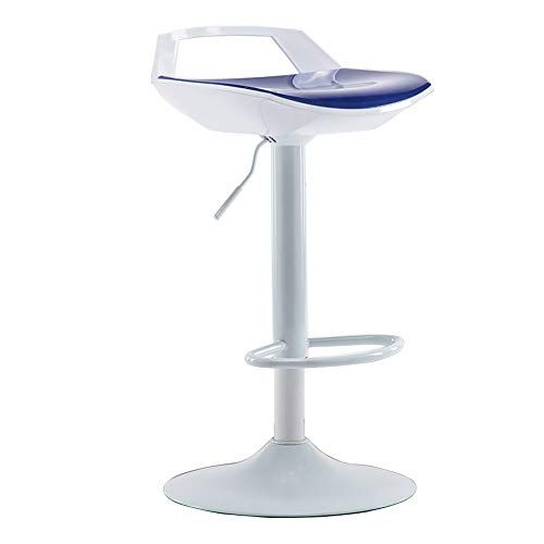 Modern Swivel Adjustable Height Swivel Barstools Abs Seat And