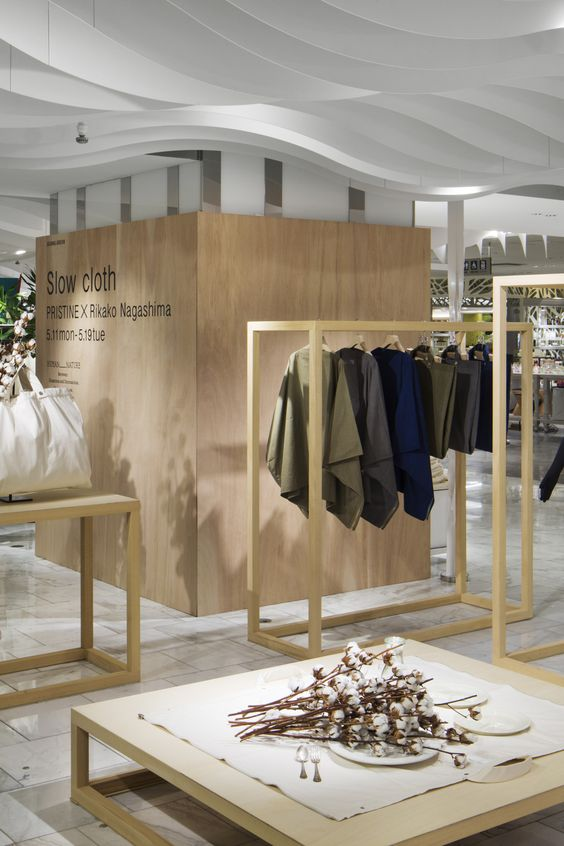 Rikako Nagashima — Slow cloth Human_Nature 2015 Product design &...