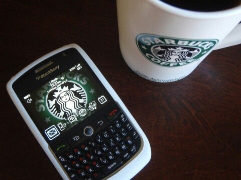#starbucks #blackberry