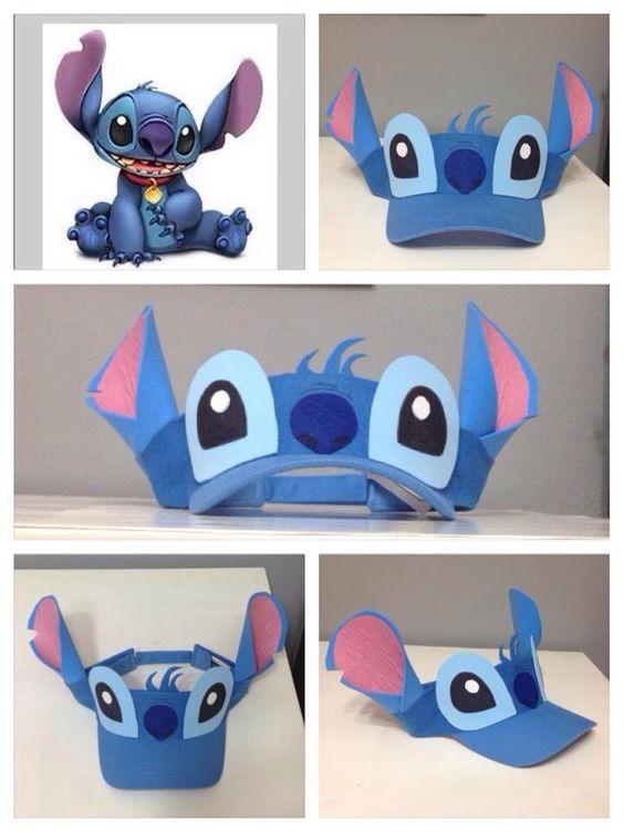Do it yourself Stitch visor