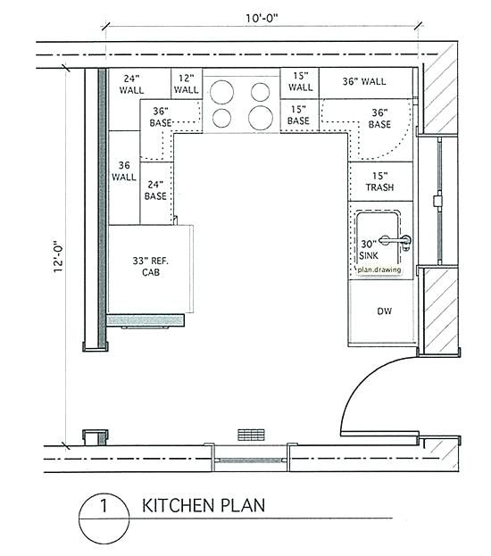 Cool Floor Plan Kitchen Dimensions Photos In 2020 Small Kitchen