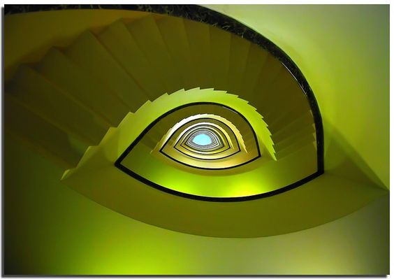eye stairs, Rome