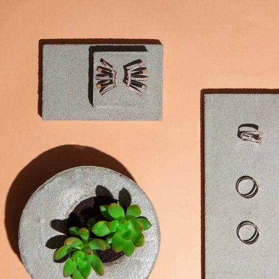 Novas joias de Carol Bassi são inspiradas na arquitetura ~ BLOG M MAG