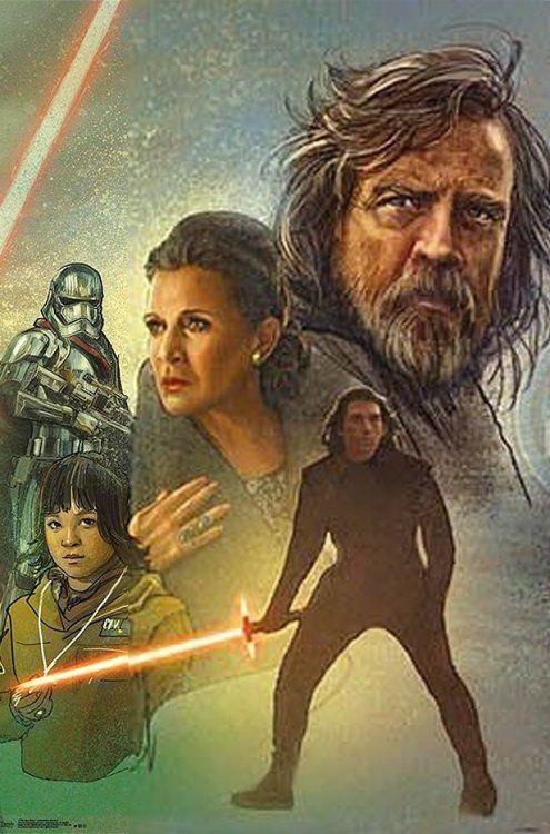 Star Wars 2019 MOVIE POSTER ART Concept Design PRINT PREMIUM
