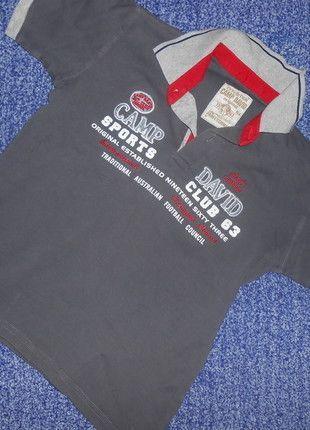 Kaufe meinen Artikel bei #Mamikreisel http://www.mamikreisel.de/kleidung-fur-jungs/kurzarmelige-t-shirts/27341532-camp-david-polo-t-shirt-gr-134-140-guter-zustand