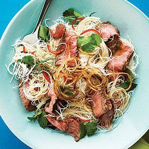 Vietnamese Steak Noodle Salad