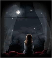Hasil Gambar Untuk Bintang Bertaburan Di Langit Lonely Art Anime Scenery Wallpaper Anime Art Beautiful