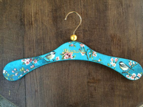 Hey, I found this really awesome Etsy listing at https://www.etsy.com/uk/listing/460961134/decoupaged-floral-wooden-lady-hanger