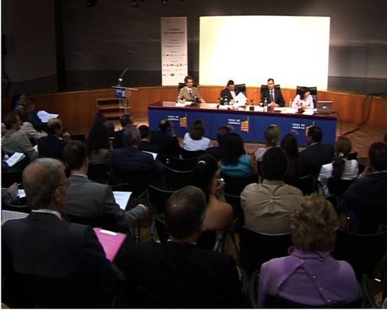 """Primer foro """"Colombia: una oportunidad"""". Conferencia en 2006. - Mercedes Lopez Caparros"""