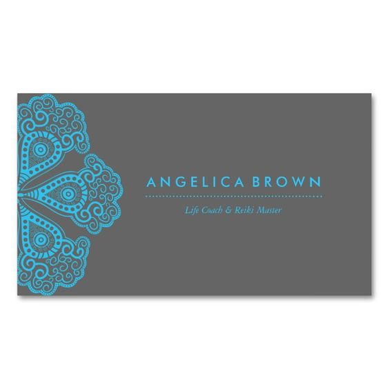 Meditation Teacher and Life Coach Business Card. I love this design! It is available for customization or ready to buy as is. All you need is to add your business info to this template then place the order. It will ship within 24 hours. Just click the image to make your own!
