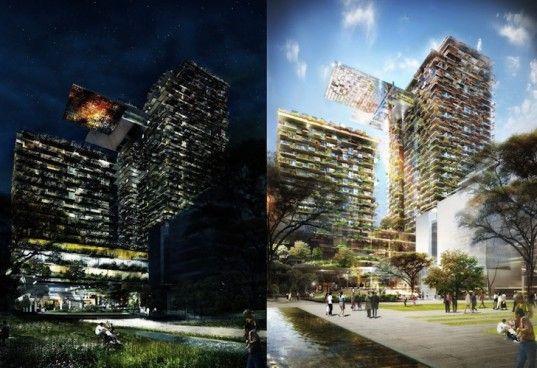 patrick blanc, one central park, sydney, residential tower, vertical garden, living wall, Jean Nouvel, Yann Kersalé,