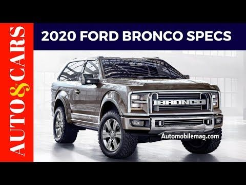 2020 Ford Bronco Jalopnik Price Specs Review With Images
