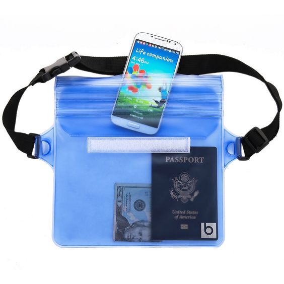 Waterproof Pouch With Waist Strap 2 Pack Best Way To Keep Your Phone And Valuables Safe Dry Perfect For Boating Swimming Snorkeling
