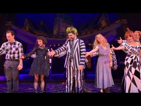 The Beetlejuice The Musical Cast Being Iconic For 16 More Minutes Youtube Beetlejuice Cast Musicals Beetlejuice