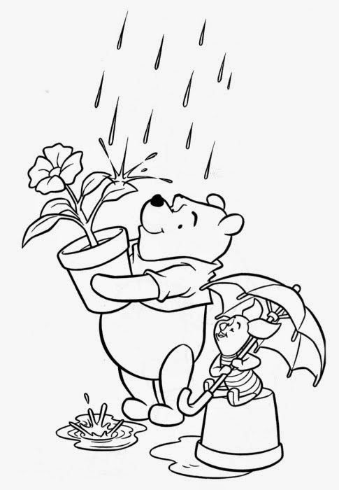 Ursinho Pooh De Ledaagricolaportugal Em Artesanatos Cores Disney