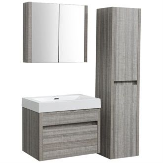 Products and armoires on pinterest for Meuble lavabo toilette