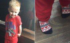Ihr Sohn wird wegen seiner 'Mädchen-Socken' gehänselt - diese Mutter reagiert genau richtig