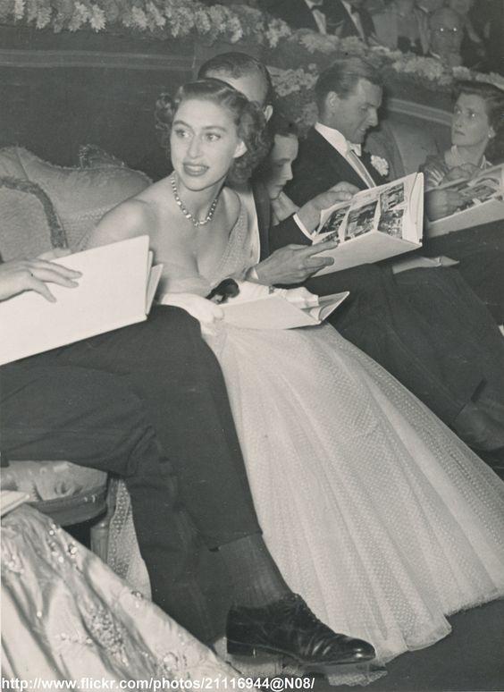 H.R.H.Princess Margaret at cinema | by romanbenedikhanson