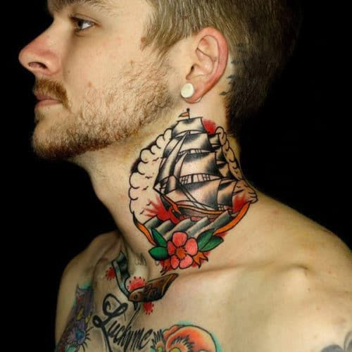 101 Best Neck Tattoos For Men Cool Designs Ideas 2019 Guide In 2020 Neck Tattoo For Guys Neck Tattoo Best Neck Tattoos