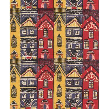 Houses fabric