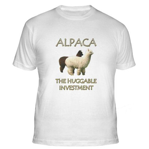alpaca the huggable investme funny fitted t shirt by. Black Bedroom Furniture Sets. Home Design Ideas