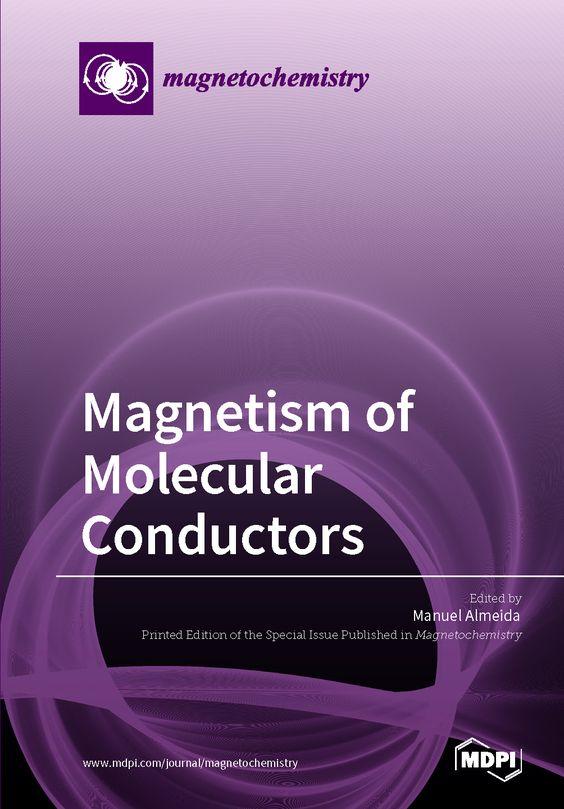 Resultado de imagen de Magnetism of Molecular Conductors