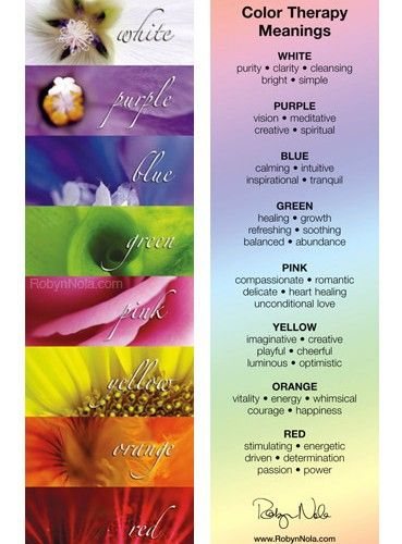 Color Therapy Bookmark Therapy Quotes Affirmations And