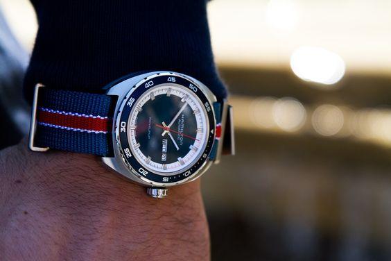 Preppy chic montre hamilton watch watches mensfashion menwear