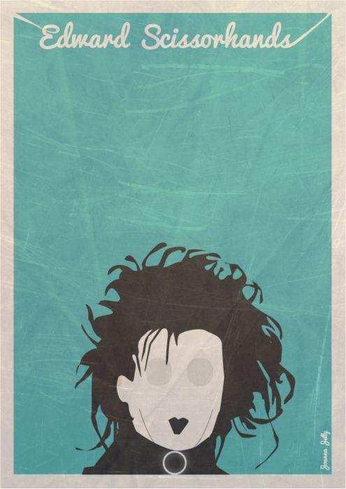 Edward Scissorhands by Joanna Jelly
