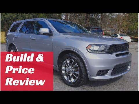 2019 Dodge Durango Gt Build Price Review Features Colors Configur In 2020 Dodge Durango Crossover Suv Chevrolet Traverse