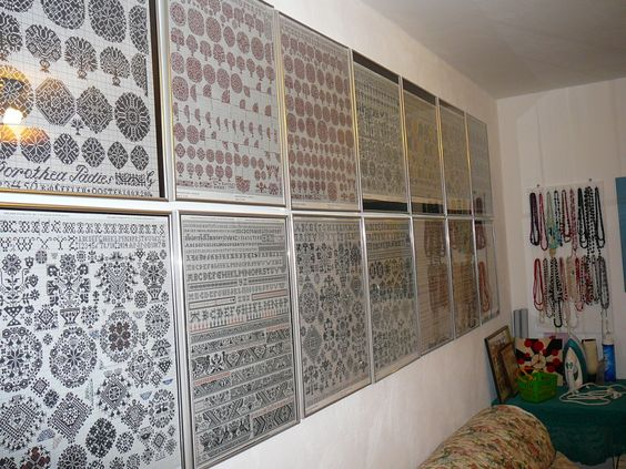 Samplers On Display