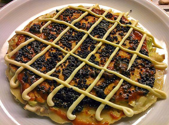 Okonomiyaki, ein sehr schönes Rezept aus der Kategorie Japanisch. Bewertungen: 26. Durchschnitt: Ø 4,2.