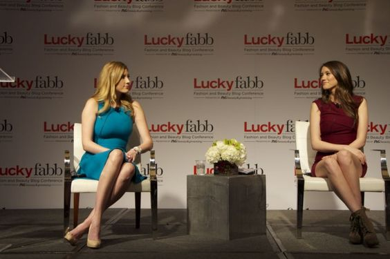 Elle and Blair Fowler at #LuckyFABB 2013